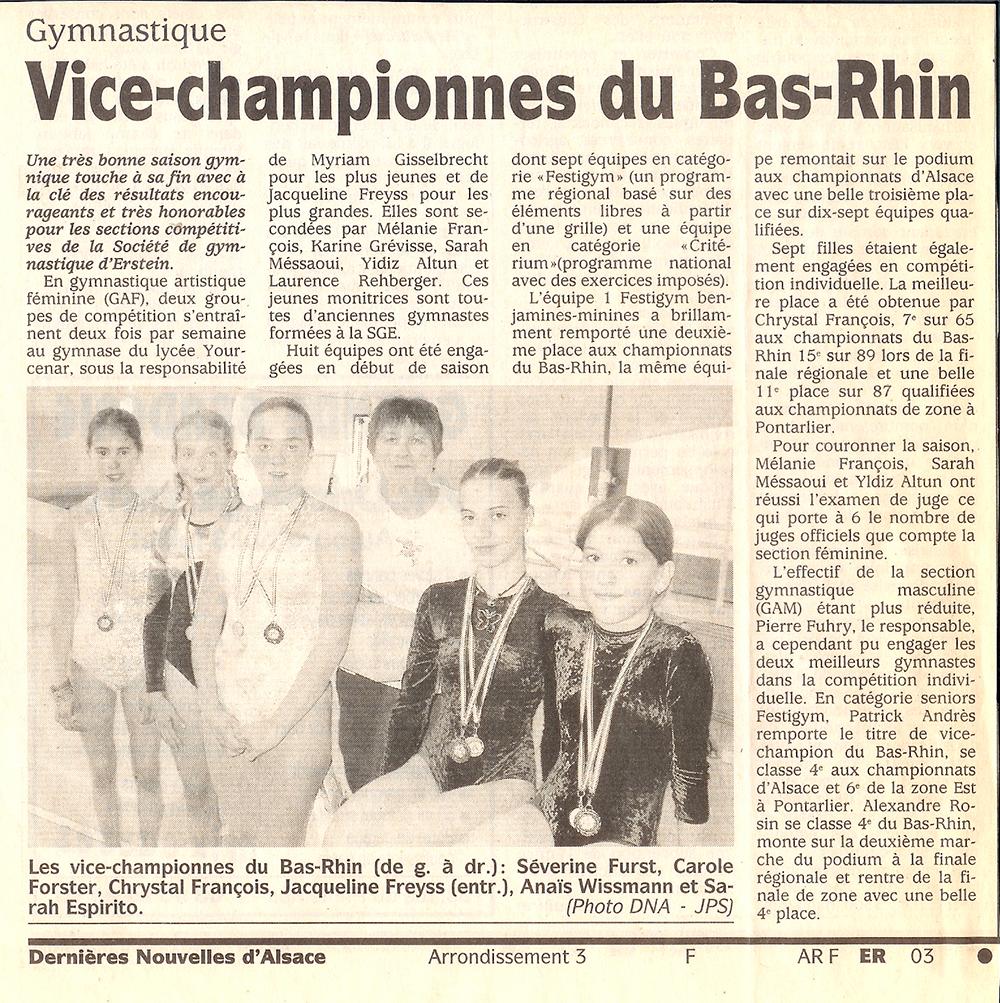 vice-championnes-bas-rhin